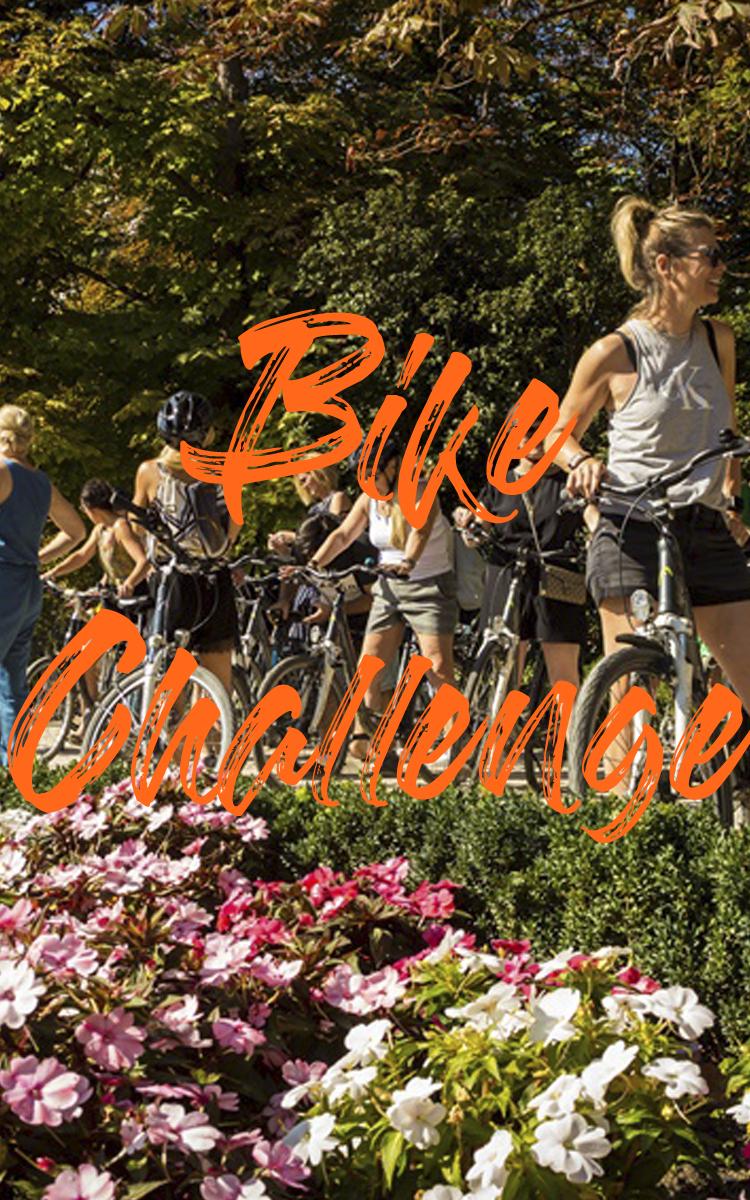 desafío en bici